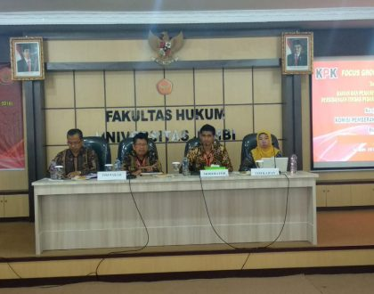 CRIMINAL ACT FGD CORRUPTION TOGETHER WITH KPK RI