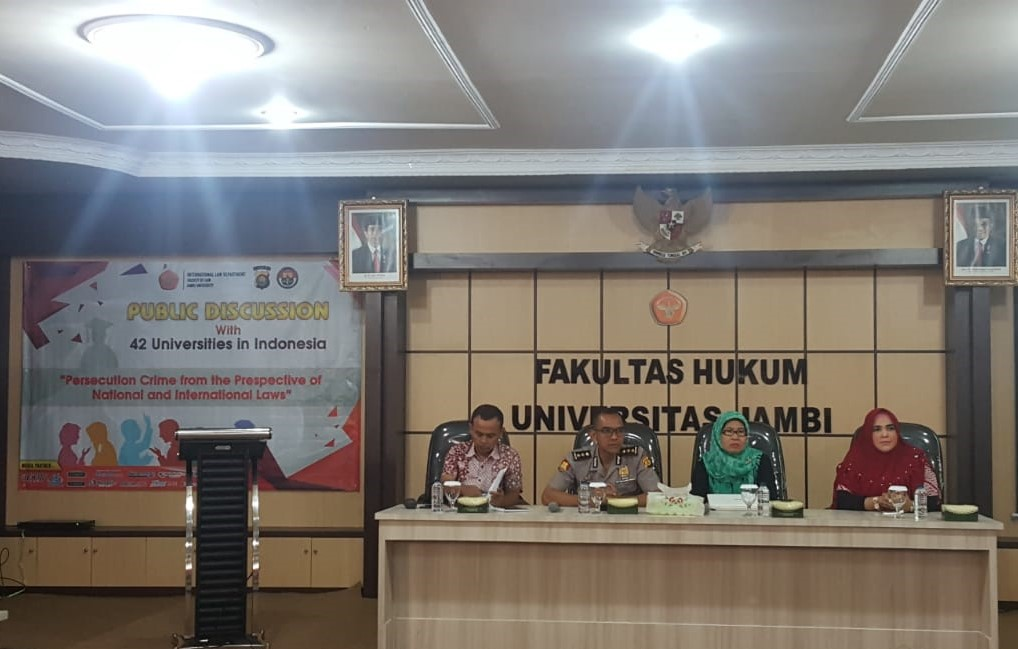 SPECIAL PROGRAM IN INTERNATIONAL LAW FH UNJA SUCCESSFULLY HOLDS PUBLIC DISCUSSIONS