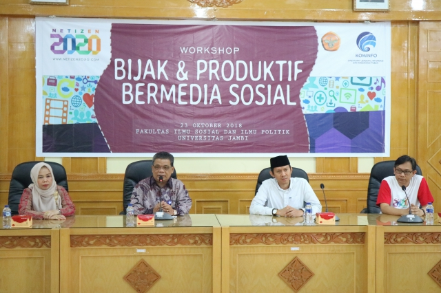 DEGREE OF WORKSHOP, KOMINFO REQUESTS PARTICIPANTS WANT TO SOCIAL MEDIA