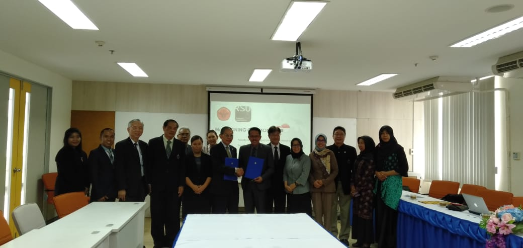 FACULTY OF LAW WAS IN INTERNATIONAL COOPERATION